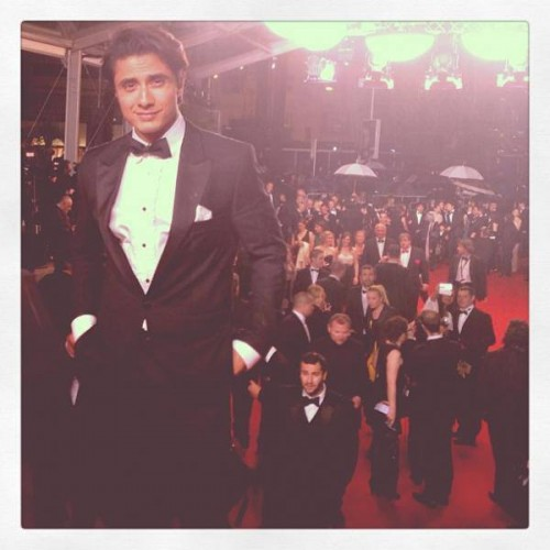 Ali Zafar at Cannes for the very first time