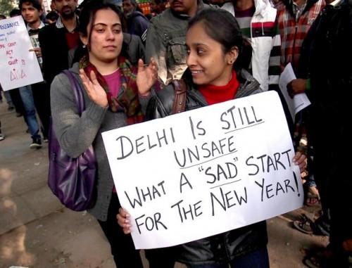 Protests After Death of Gang Rape Victim, New Delhi, India - 31 Dec 2012