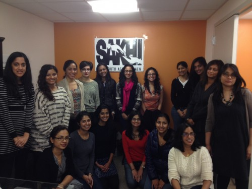 Volunteers and staff members at the Feb.1 domestic violence training session. (Photo by Vaidehi Mujumdar)