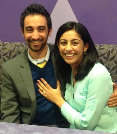 Congrats Aditi & Amir!