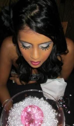 Makeup by Shafeena Khan. (Photo via ShafeenaKhan.com).