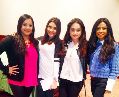 "#BG Rakhi, Kamini Trisha and Sheena at the ""Appreciating Women"" event in New Jersey!"