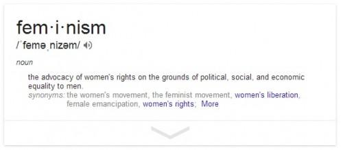 feminism, definition