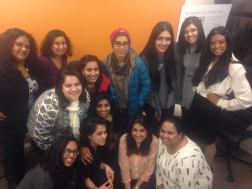 Thank you to all the ladies who attended our first writing workshop!