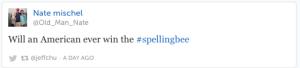 spelling bee racism