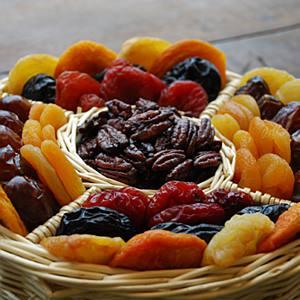 dried fruits basket