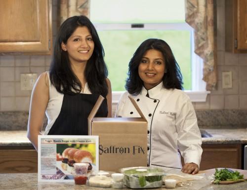Saffron Fix founders