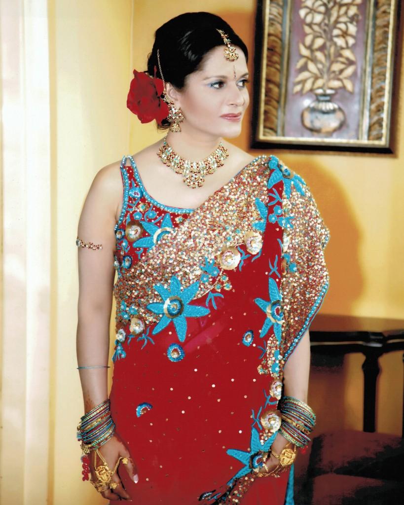 Patti Tripathi Wedding Sari
