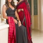 Dr. Tina and Rayna, Saris to Suits