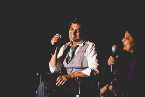 Actor Nawazuddin Siddiqui at the 2014 CSAFF. (Photo Credit: Rahul Rana Photography)