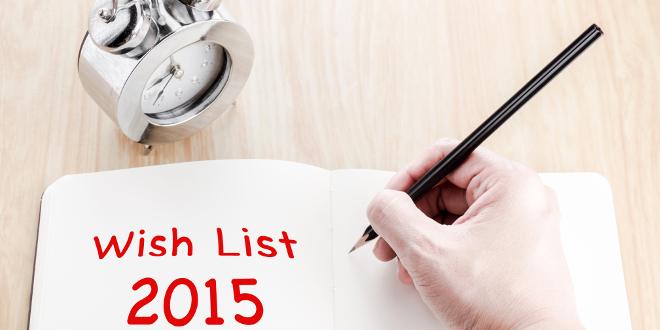 new year eve wish list