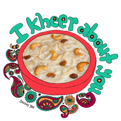 I kheer about you