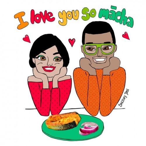 I love you macha