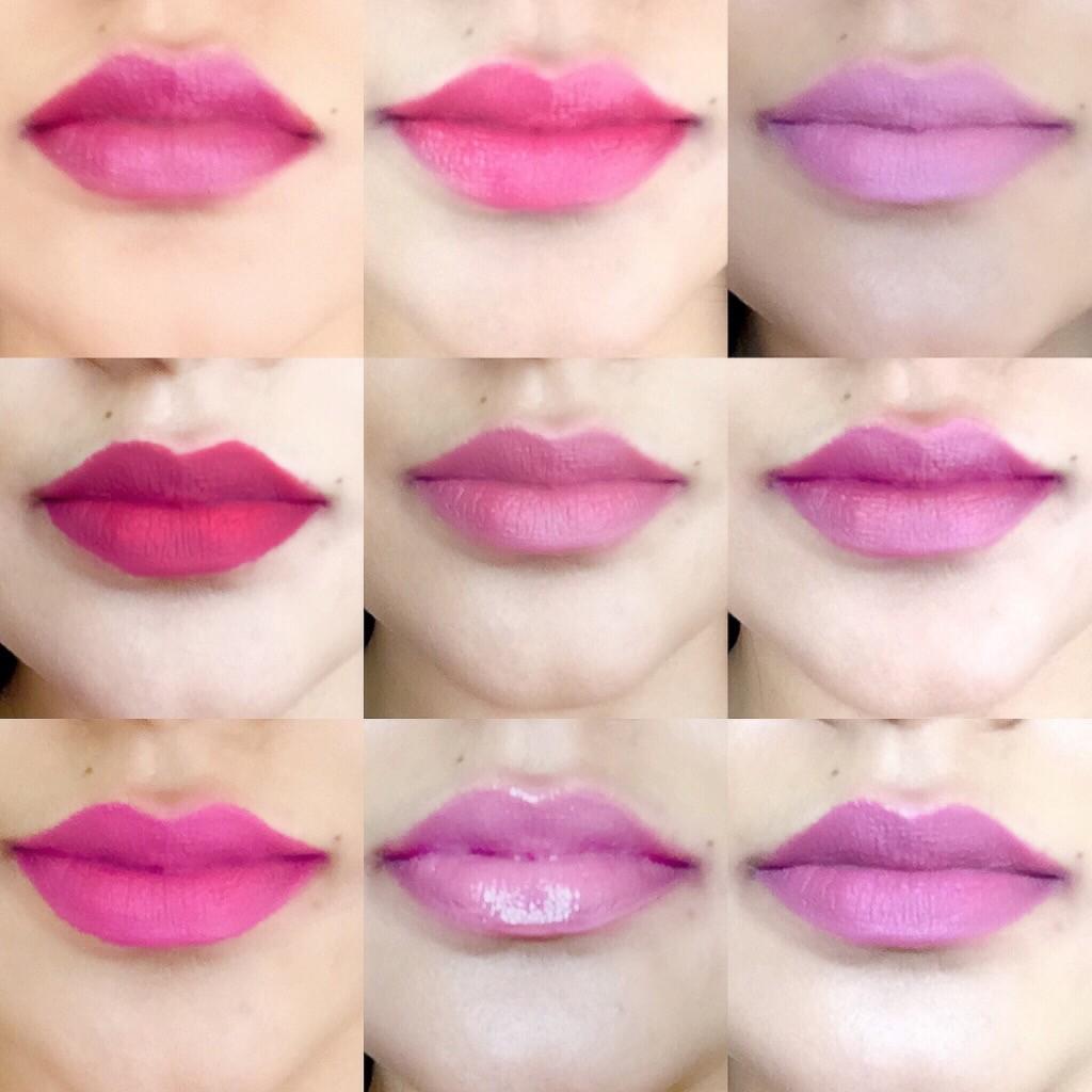 sapna lip stick tutorial