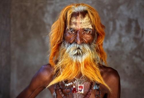 INDIA-11024, Rabari Tribal elders.