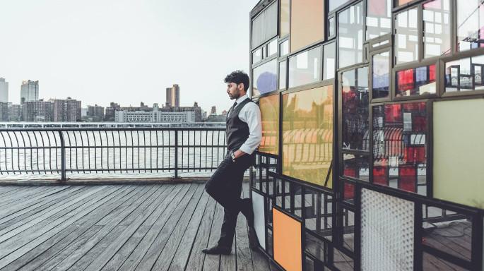 [Actor Dhanish Karthik.| Photo Credit: DP John Martin]