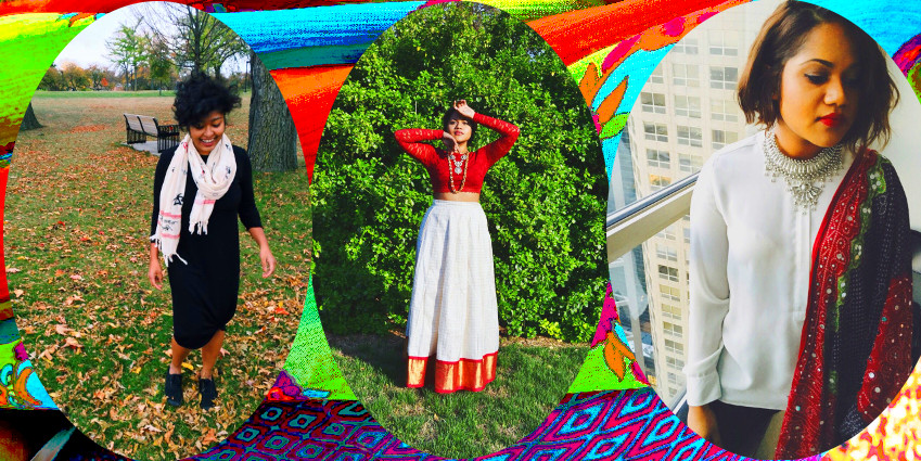 south asian fall fashion