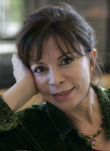 Author Isabel Allende at her home in San Rafael, Calif., Monday, March 24, 2008. (AP Photo/Eric Risberg)