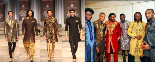 Indian and Nigerian Men