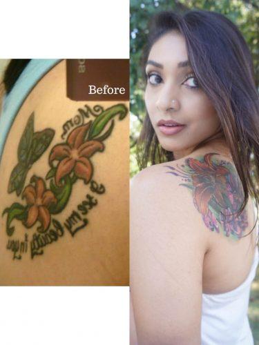 brown girl tattoo
