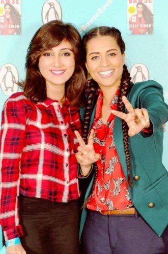 Lilly Singh Queenie Shaikh