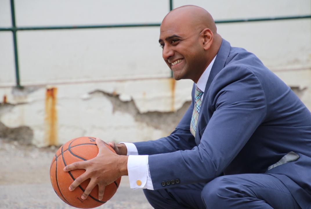 Shaun basketball
