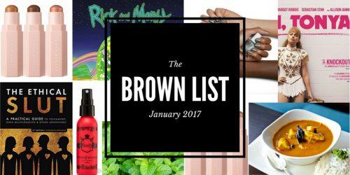 January Brown List