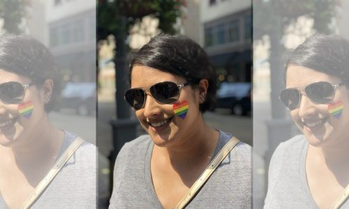 Brown LGBTQ Girl