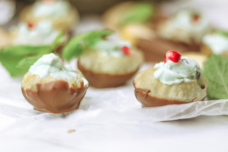 Sweeten your Holiday Dessert Menu with Chocolate Dipped Pani Puri