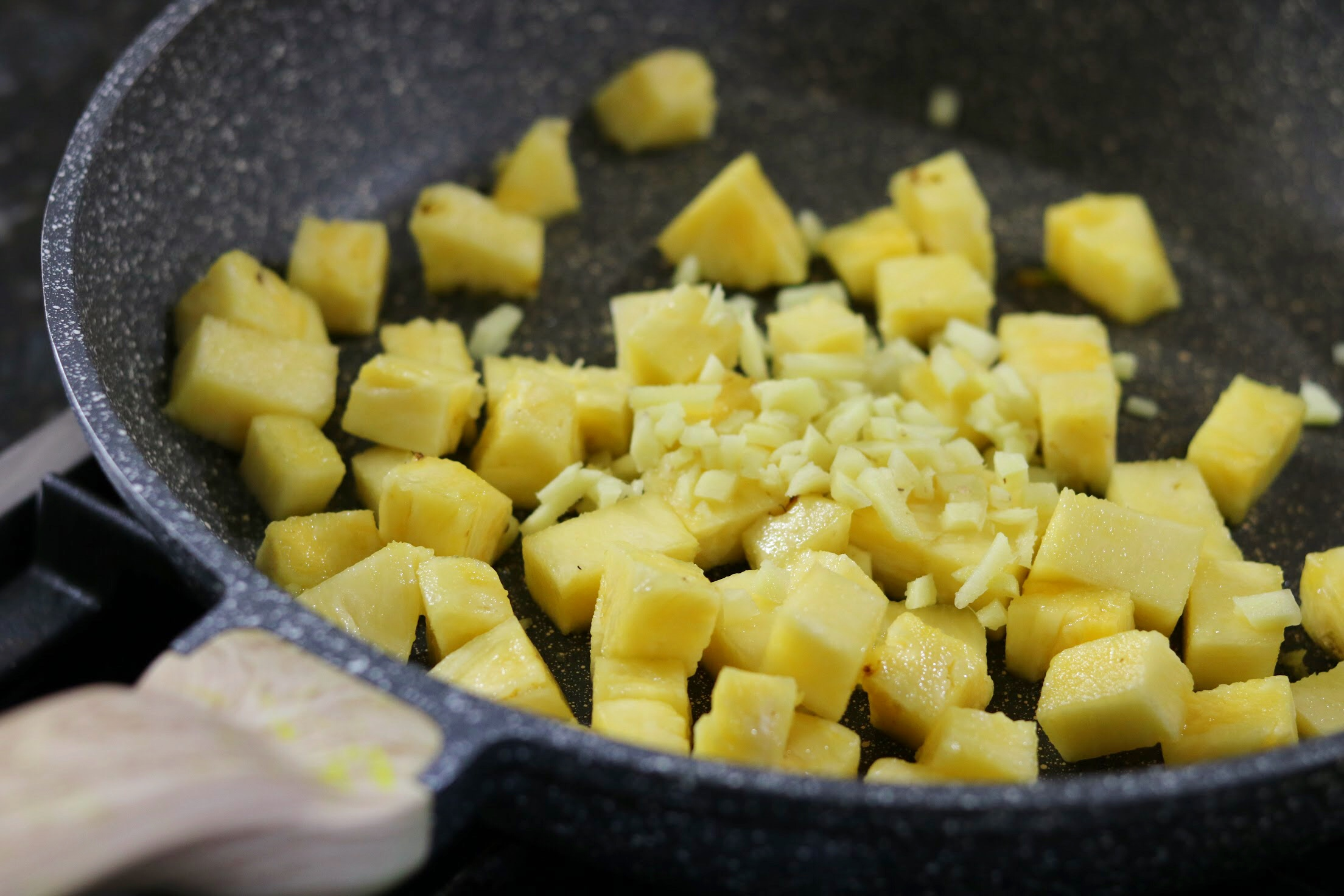 Pineapple Pachadi: An Onam Sadhya Special