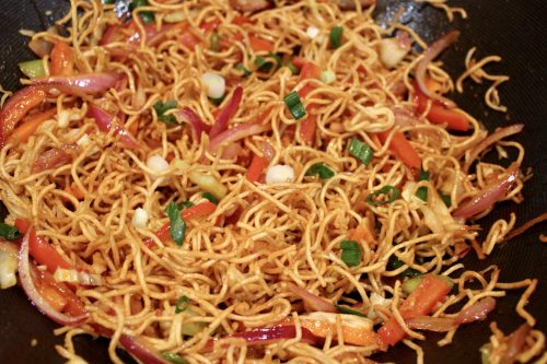 Add Some Color to Your Menu With Chinese Bhel