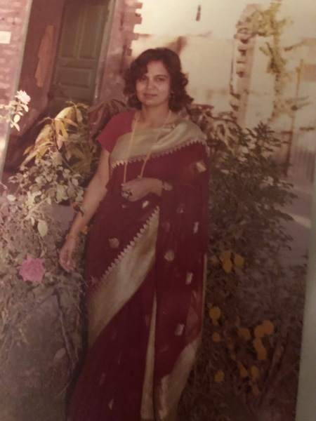 My nani in her traditional lengha
