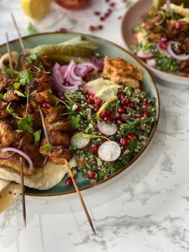 Make it for Dad: Chicken Kebab Flatbread
