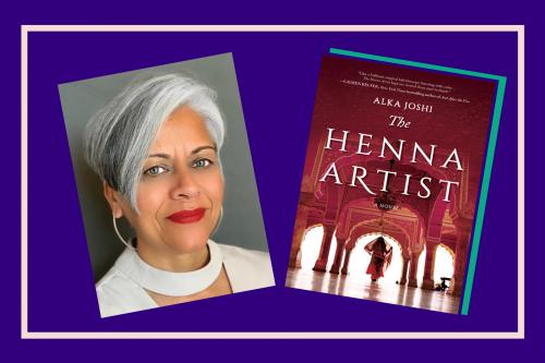 Author Interview Alka Joshi