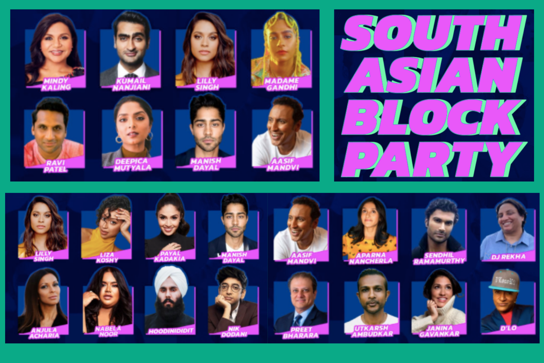 south asian block party