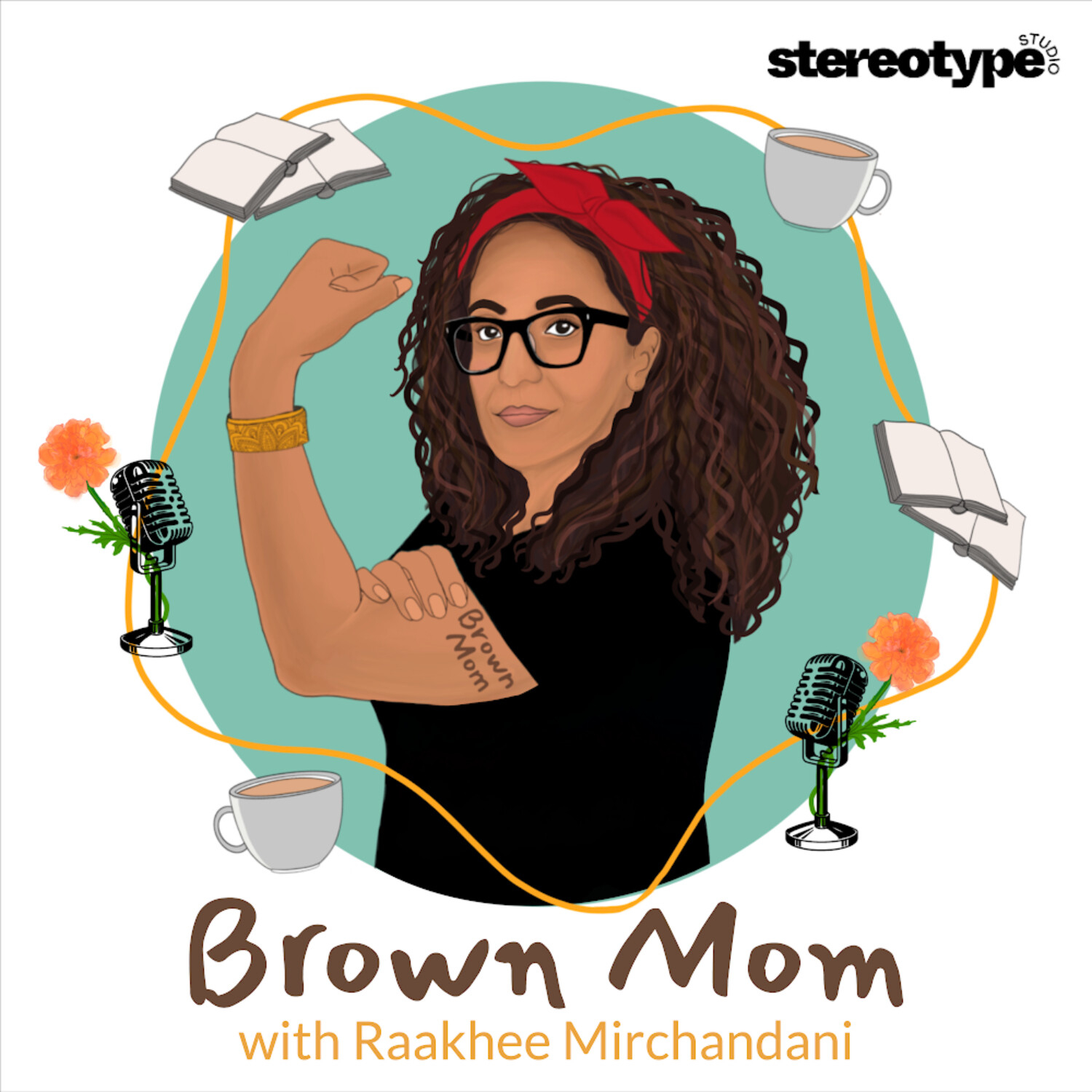 brown mom