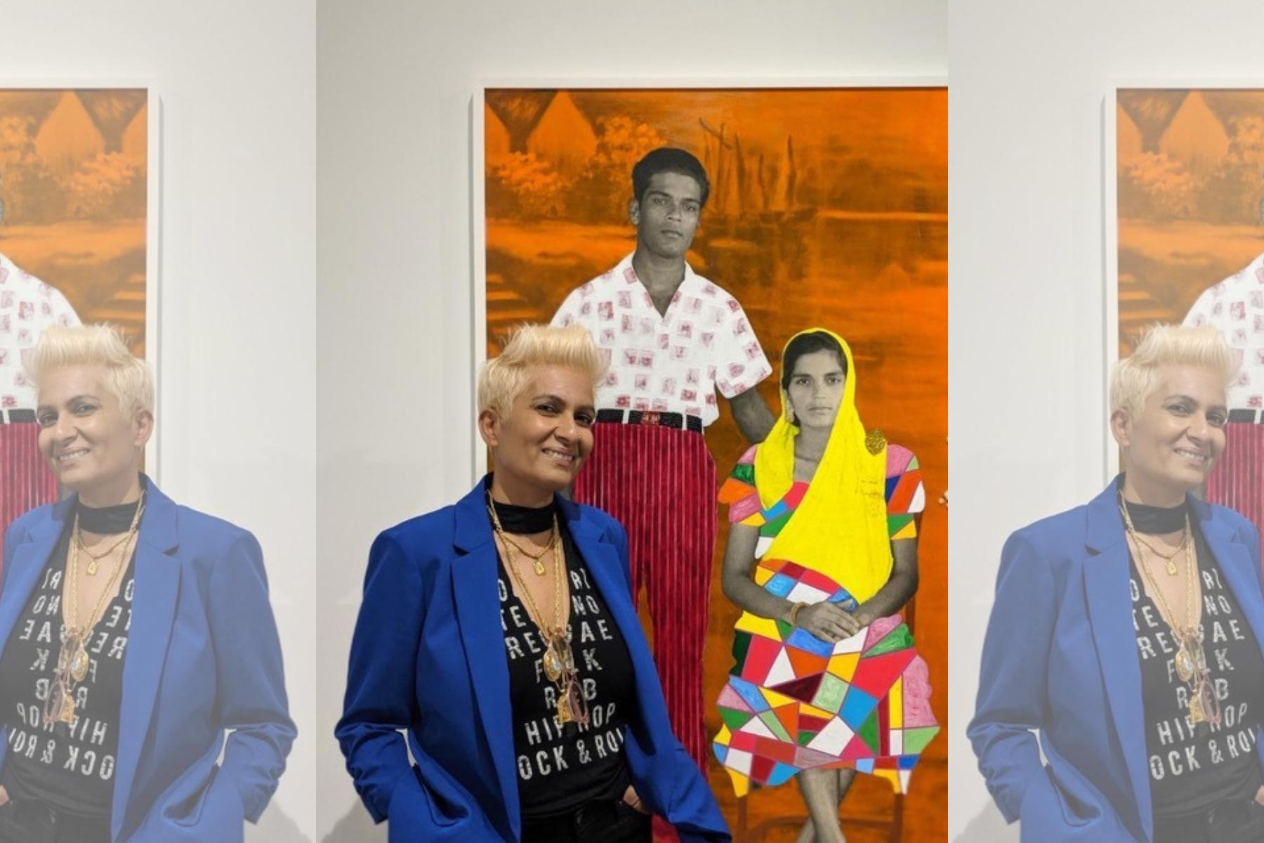 Trinidadian Artist Renluka Maharaj